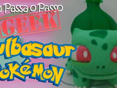 DIY - Bulbasaur (Pokémon) em Biscuit - Sah Passa o Passo GEEK