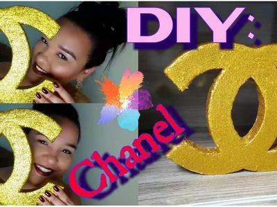 DIY: Decoração- Símbolo Chanel --- Por Síssy's Moreira