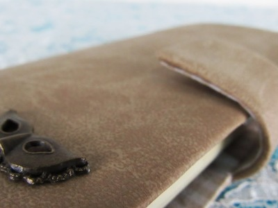 DIY - Capinha de celular de couro sintético!
