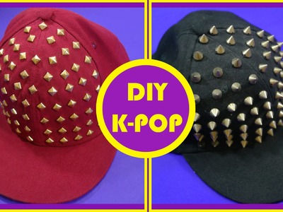 DIY K-POP - Boné Com Spikes