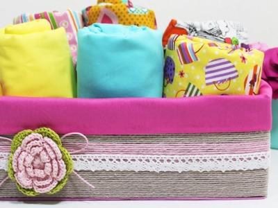 DIY -  Organizador com Caixa de Sapato - Segredos de Aline