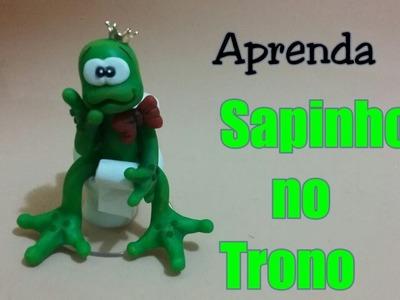 DIY _ SAPINHO NO TRONO. ELISANGELA MOTTA