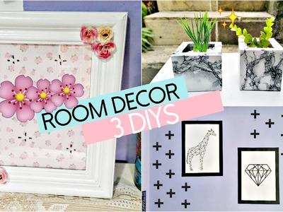 3 DIYS - Decoração Quarto - Room Decor