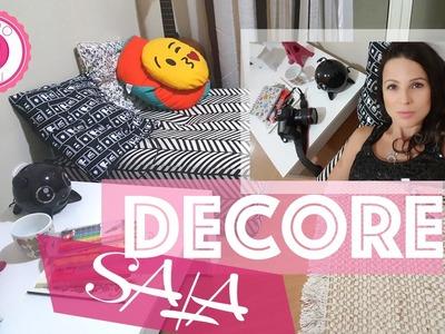Decorando a sala | DIY | Cantinho da criatividade - Parte I - Mundo de Luli