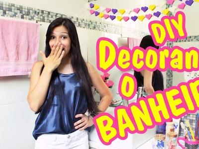 DIY 5 Ideias Para DECORAR o Seu BANHEIRO + Tour Antes e Depois
