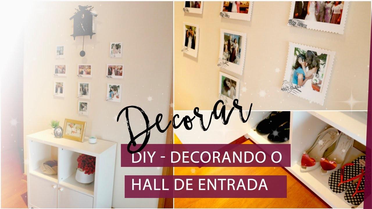 DIY Como decorar o Hall de Entrada da Casa, Pigmento F -> Como Decorar Hall De Entrada De Apartamento