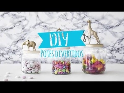 DIY: Como Fazer Potes Decorados Divertidos | WESTWING
