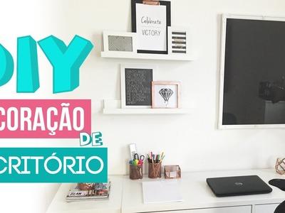 DIY - Decoração de Escritório | Carol Ramos