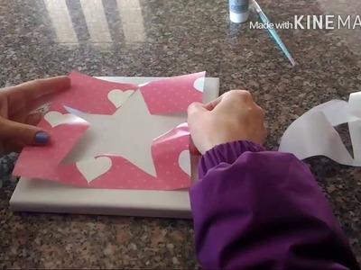 DIY-Fast Frame (how to make) Quadro Rápido (como fazer)