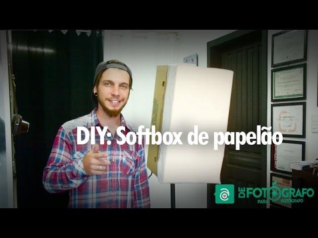 DIY:  Softbox de papelão