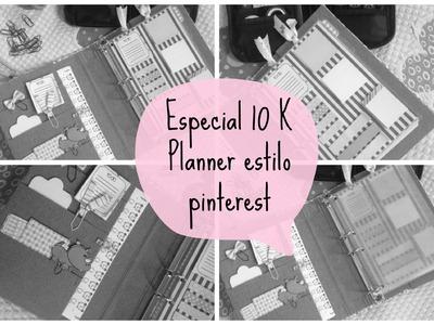 #especial10K | DIY planner estilo pinterest 06