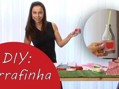 DIY: Aprenda a fazer lembrancinhas para festa PIC-NIC - Garrafinha