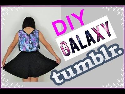 DIY blusa inspirada no TUMBLR