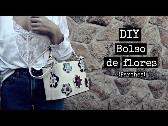 DIY - Bolso de flores - tendencia parches | Monica Beneyto