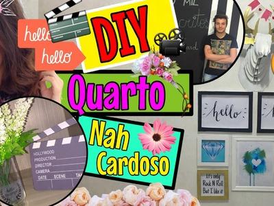 DIY - Decoração de Quarto NAH CARDOSO | #DecoraçãoDeYoutuber - Eduardo Wizard