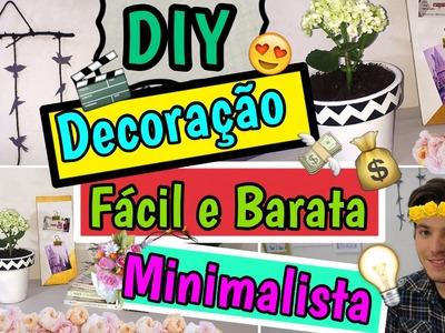 DIY - Decoração Minimalista | Room Decor - Eduardo Wizard - Ft. Amanda Morbeck