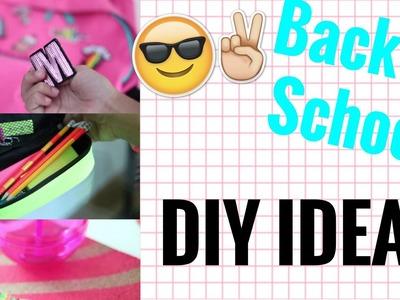 DIY SCHOOL SUPPLIES #BACKTOSCHOOL