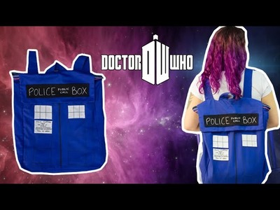 Mochila de Tardis (Doctor Who) - DIY Geek