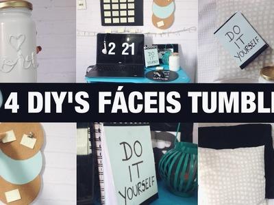 DIY : 4 idéias fáceis inspiradas no TUMBLR