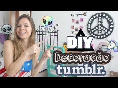 DIY - Decoração de quarto Tumblr