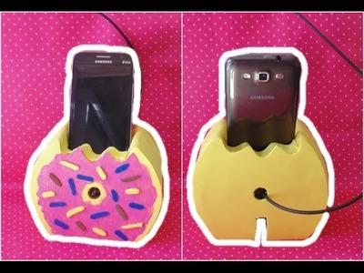 DIY: Donut carregador de celular
