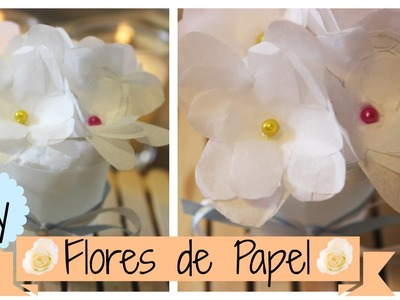 DIY: Flores de Papel!  #Primavera #PapelEmTudo