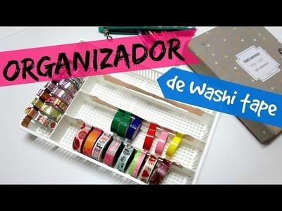 DIY ORGANIZADOR DE WASHI TAPE | #POCFazendoArte Ep. 51