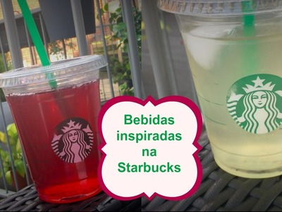 VEDA 28 :DIY Bebidas geladas inspiradas na STARBUCKS