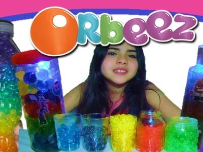 DIY: Como fazer ORBEEZ Luminária de Brinquedo Divertidamente! Bolinhas de gel que crescem na água!