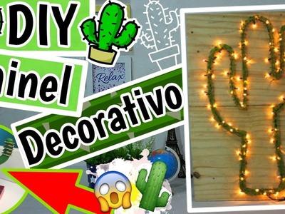 DIY - Decoração CACTO