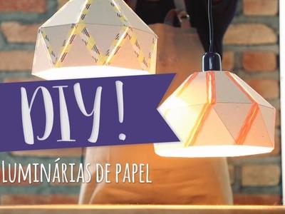 DIY: Luminárias de papel | WESTWING