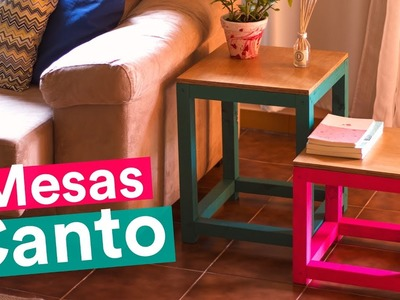 DIY - MESAS DE CANTO POP
