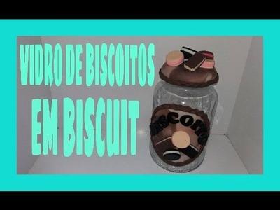DIY-VIDRO PARA BISCOITO EM BISCUIT--- BY MARCIA BISCUIT