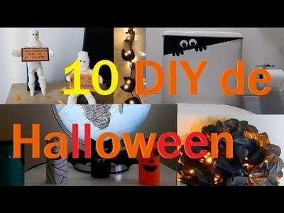 10 Decoração de Halloween DIY