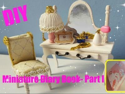 #16  DIY Miniature Dollhouse In a Book with Working Lights! (Part 1.2)- Miniatura num Livro
