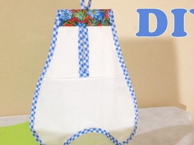 Como Fazer Puxa-Saco de Tecido Sem Costura - DIY Artesanato