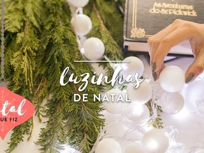 DIY: Luzinhas de Natal | WESTWING