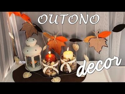 DIY Outono - Room Decor