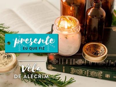 DIY: Vela de Alecrim | WESTWING