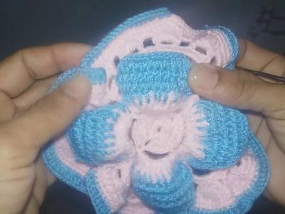 Iniciando en crochet parte 4 (tapete decorativo parte 2)