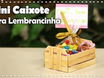 MINI CAIXOTE COM PALITOS  |  DIY  -  Dica de Arte