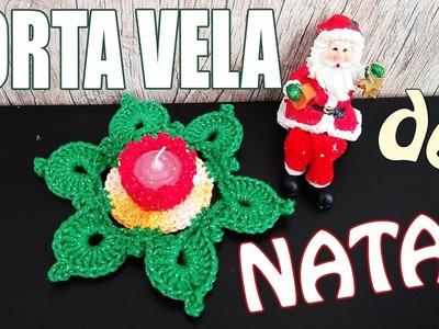 "Porta Vela de Natal - Christmas ""Soraia Bogossian"