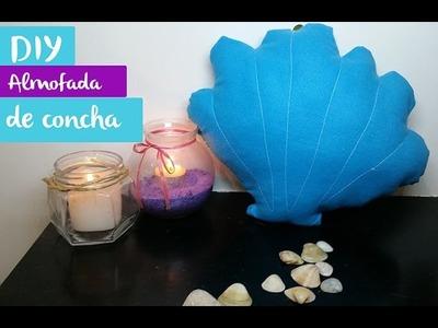 DIY almofada de concha - Mermaid