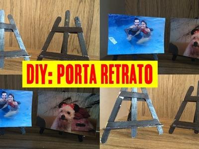 DIY. COMO FAZER UM PORTA RETRATO COM PALITOS DE PICOLÉ
