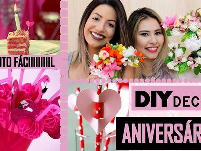 DIY DECOR DE ANIVERSÁRIO ♥FEAT CAMILA LIMA