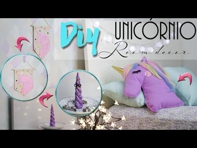 DIY: Decoração de Quarto de Unicórnio - Room Decor Ft. Dany Martines