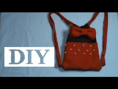DIY - Dia das crianças | Mochila Minnie e Mickey