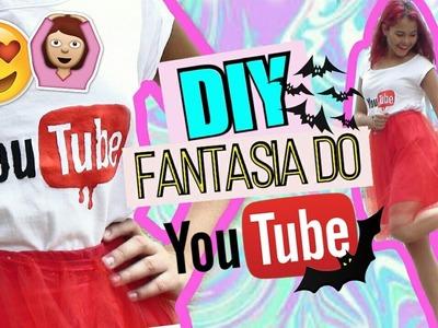DIY: FANTASIA DO YOUTUBE PARA HALLOWEEN
