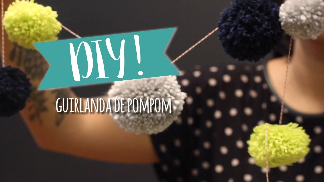 DIY: Guirlanda de Pompom | WESTWING