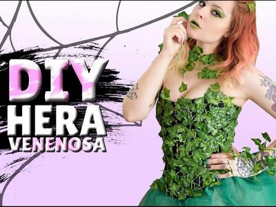 DIY - HERA (Poison Ivy) BLUSA, SAIA DE TULE, ACESSÓRIOS, MAKE E CABELOS